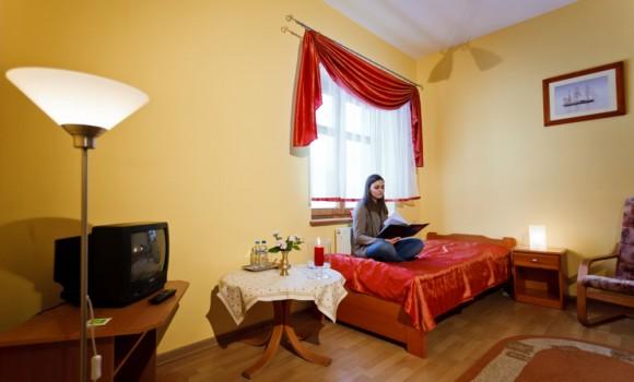 Pokoje w Podzamczu w Zamku w Krokowej