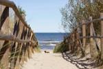 Dębki plaże wejście