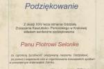 ZKP PODZIĘKOWANIA DLA P. SELONKE