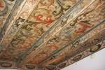 Sufit belkowy malowany z 1691 roku znajdujący się w restauracji.