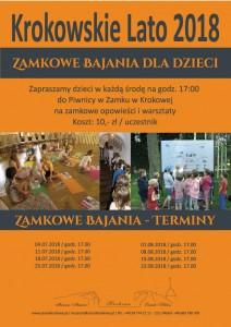 Zamkowe-Bajania-2018-Plakat